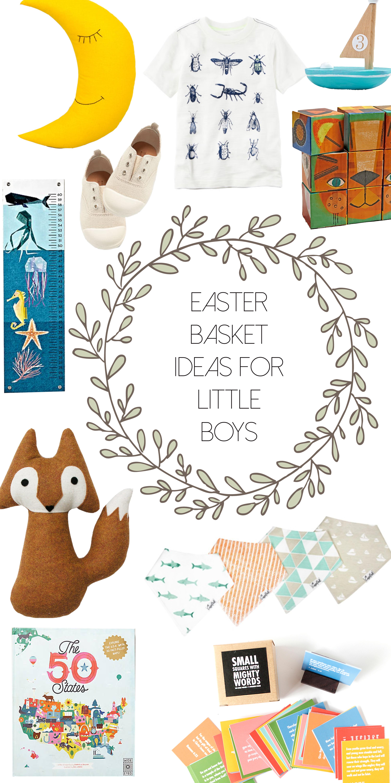 Easter basket ideas for toddler boys via thehiveblog.com