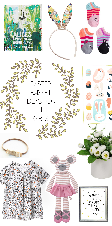 Easter basket ideas for toddler girls via thehiveblog.com