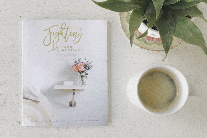Fighting For Your Marriage 30 day devotional book // thehiveblog.com