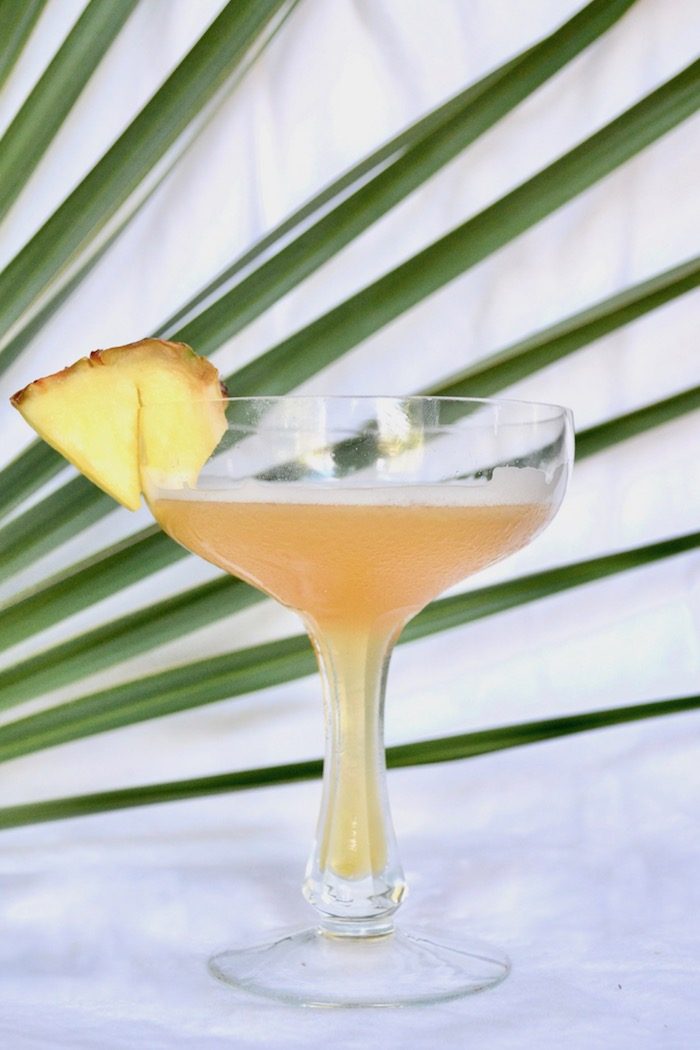 The West Indian Daiquiri made with Plantation Pineapple Dark Rum // www.thehiveblog.com