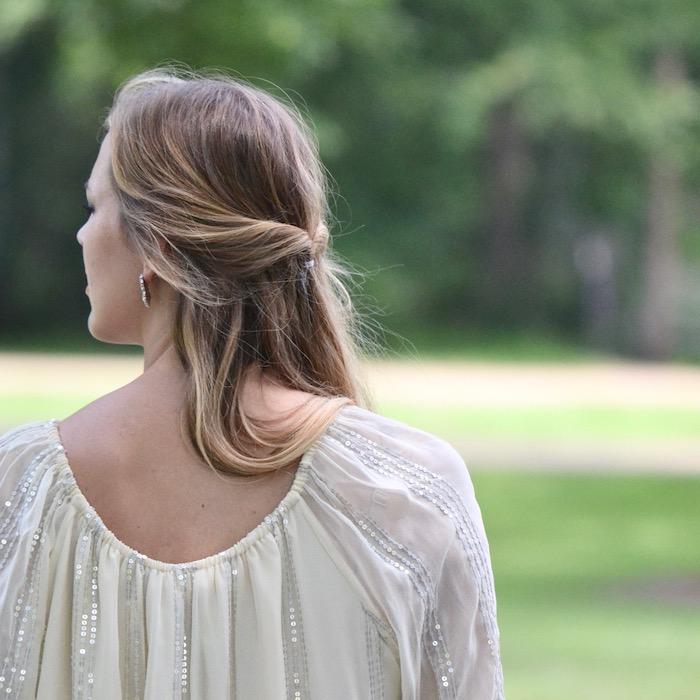 Sequin Swing Dress via thehiveblog.com