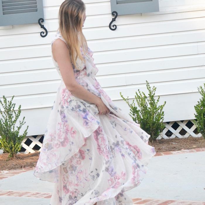 Floral Gown via thehiveblog.com