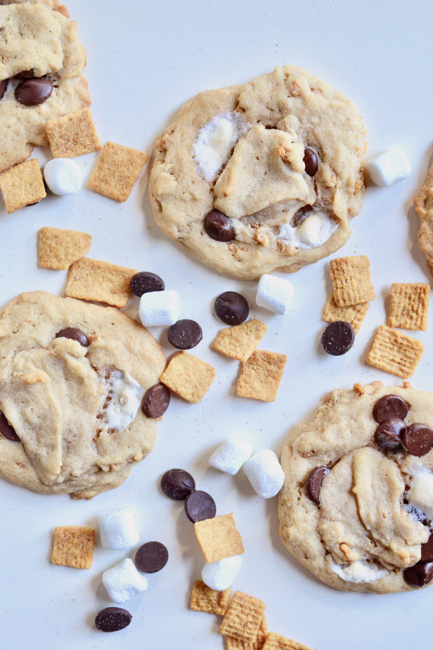 Gimme S'More Cookies! // www.thehiveblog.com
