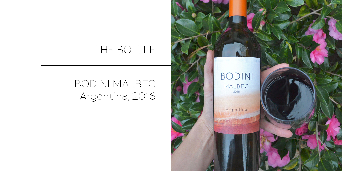 Twelve Dollar Bottle: Bodini Malbec // www.thehiveblog.com