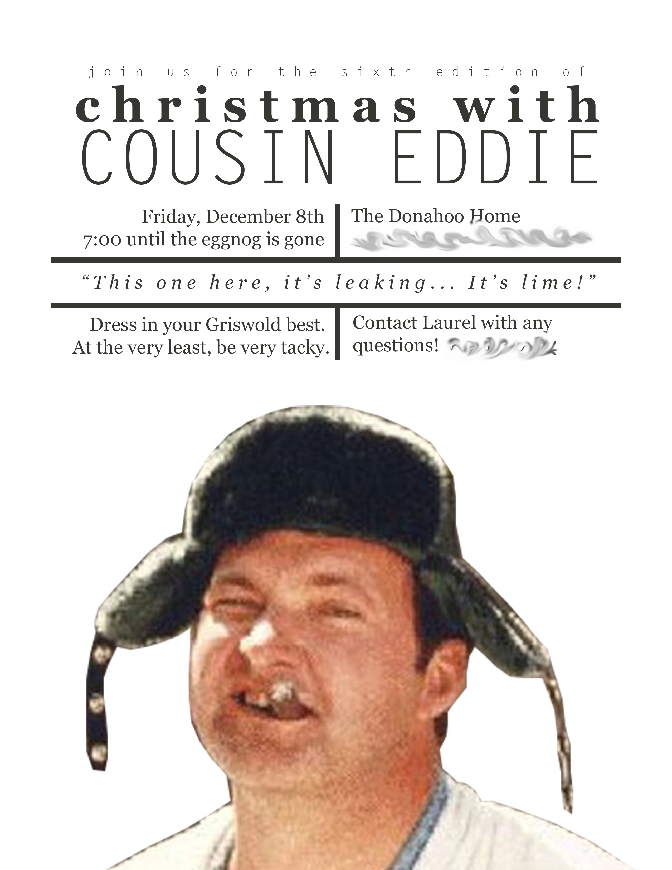 Christmas With Cousin Eddie 6.0 // www.thehiveblog.com