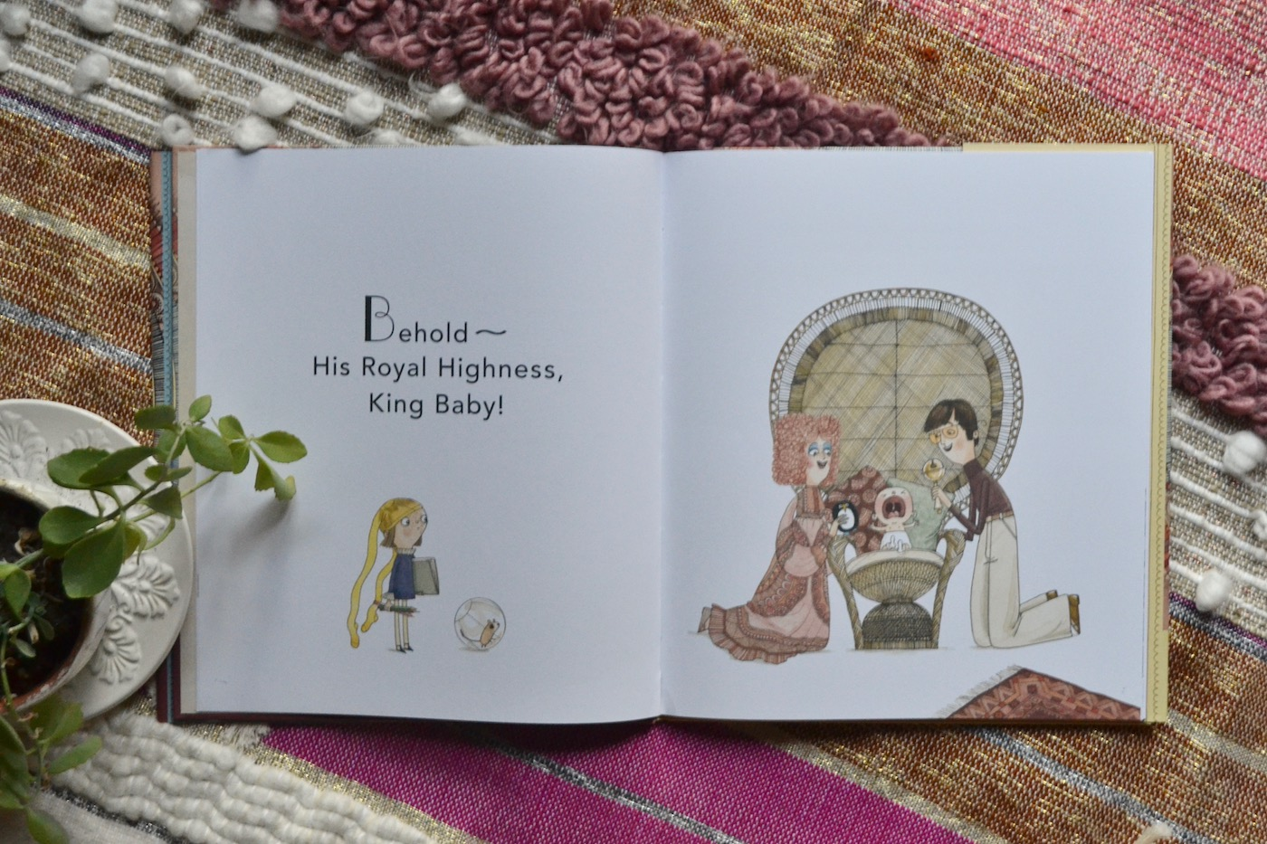 His Royal Highness King Baby by Sally Lloyd-Jones // www.thehiveblog.com