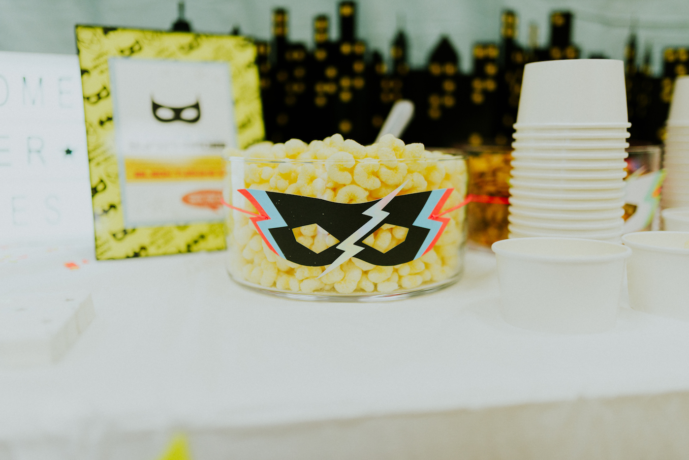 Superhero Third Birthday Party // www.thehiveblog.com