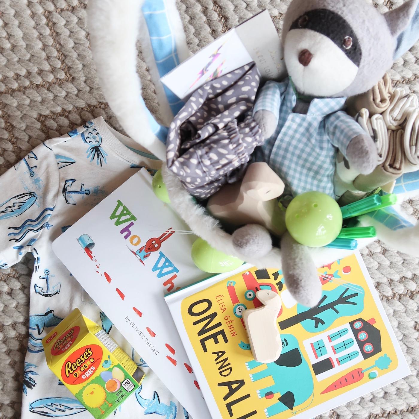 Easter Basket ideas for toddlers // #practical #useful #easterbasket