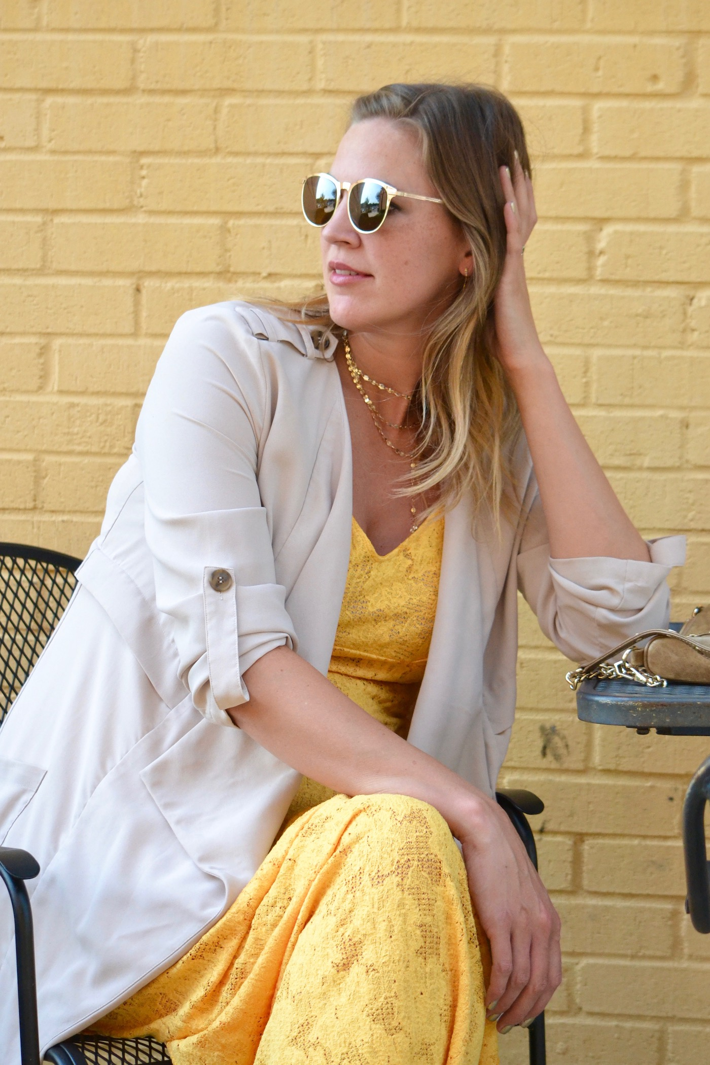 Merry Gold // yellow just makes you happy! // www.thehiveblog.com
