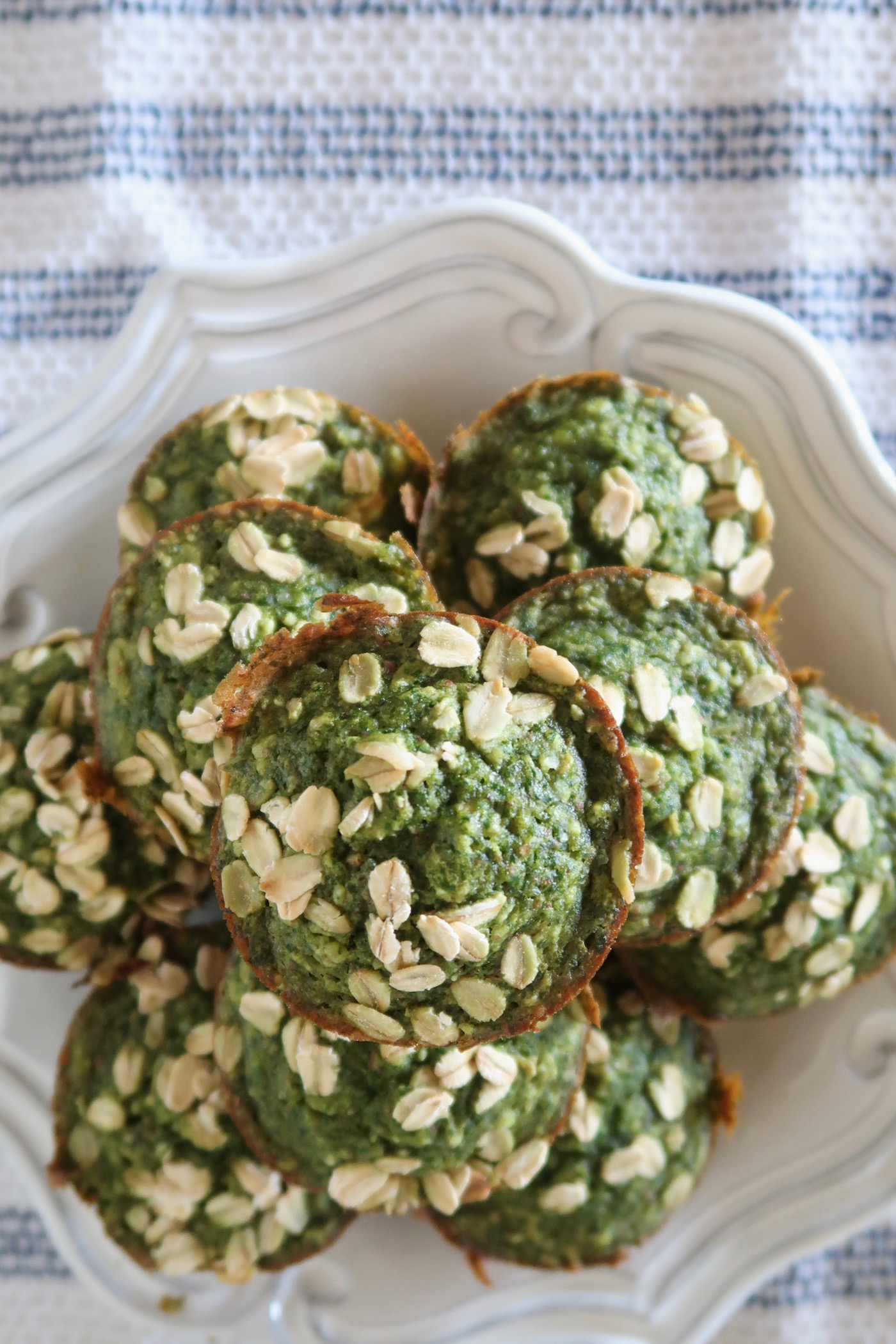 Ninja Turtle Muffins (packed with spinach and have no processed flour or sugar!)