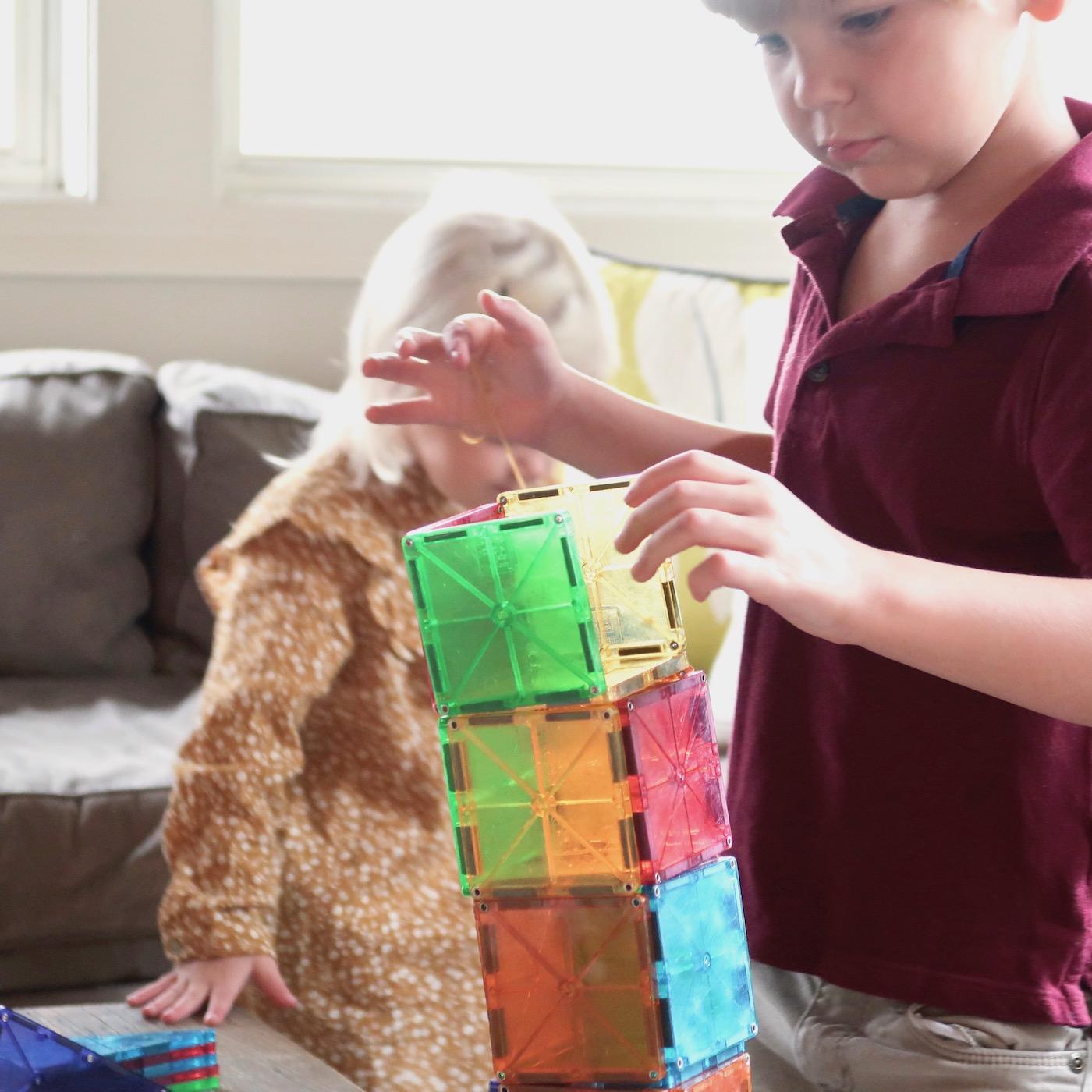 Magna-Tiles -- the perfect toddler / preschooler gift!
