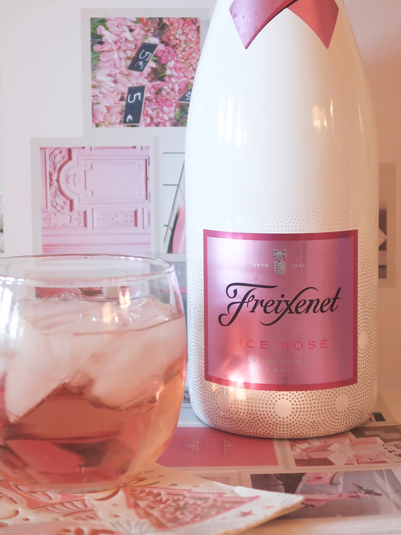 Sparkling Rosé over ice: My favorite new French trend!