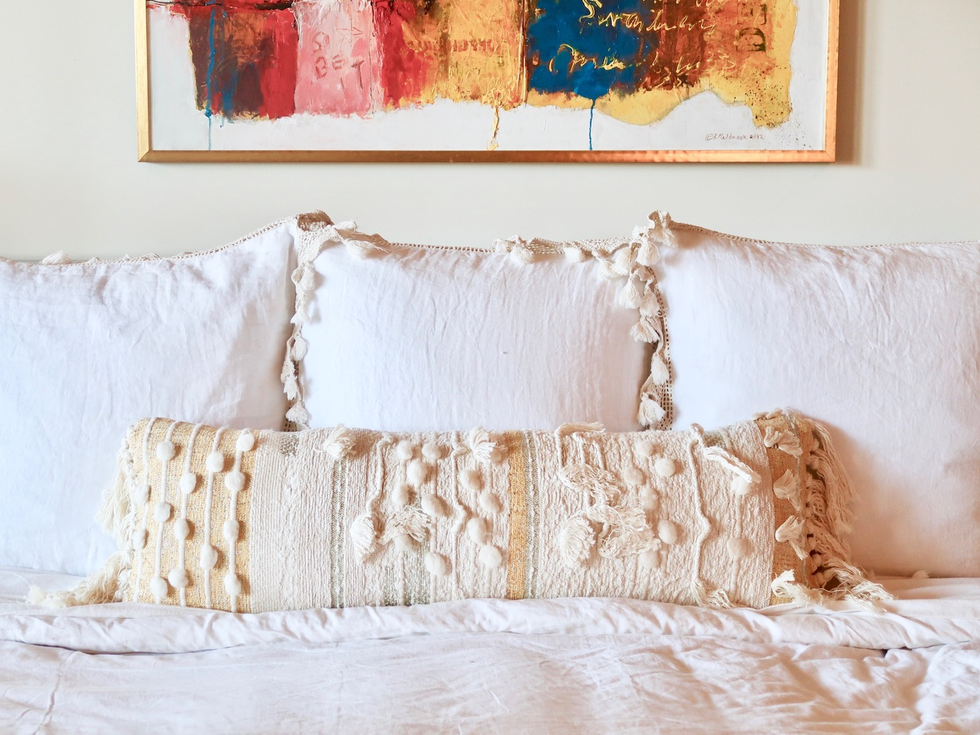 Small changes that make a big impact in a master bedroom
