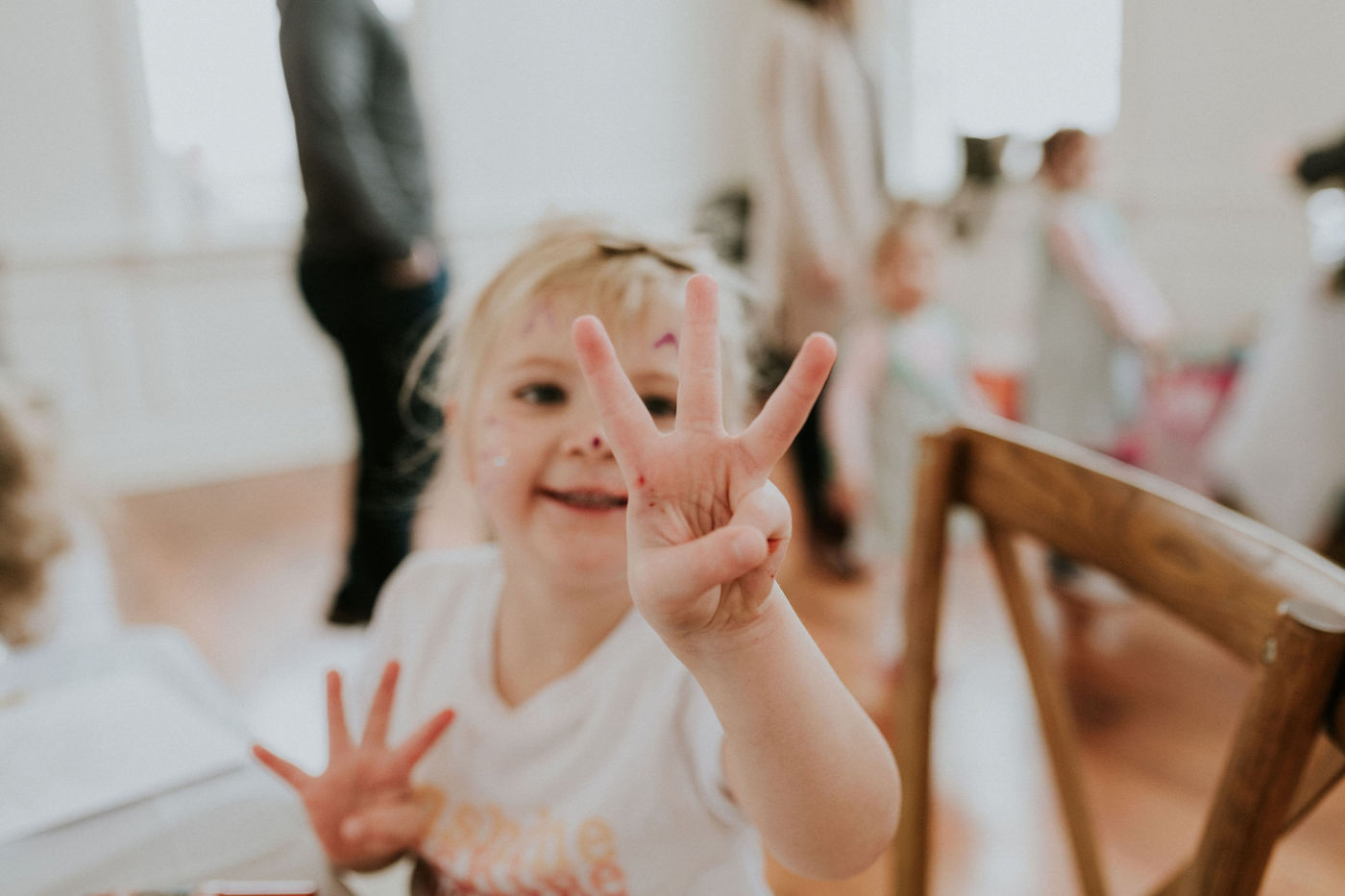 Sunshine and Rainbows // A Three Year Old Birthday Party
