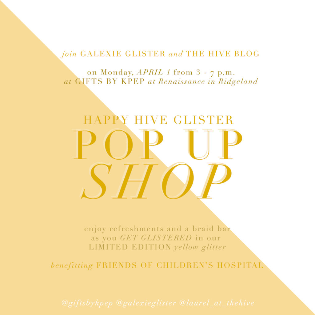 Happy Hive Galexie Glister Pop Up Shop