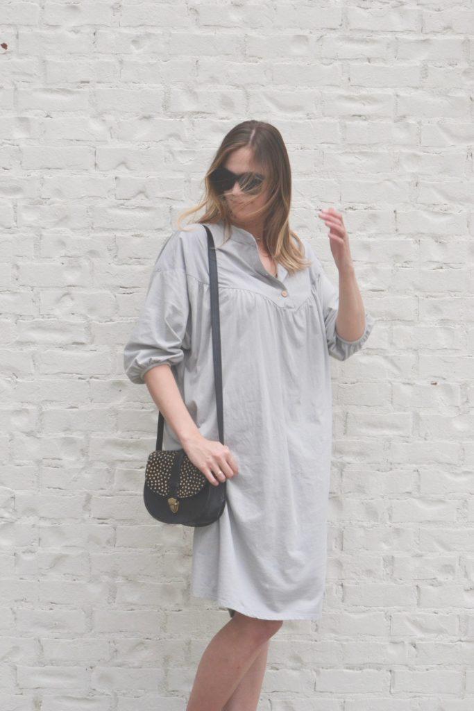 Zara Dress + Phive Rivers bag