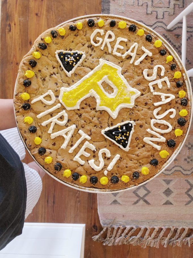 The most perfect cookie cake recipe