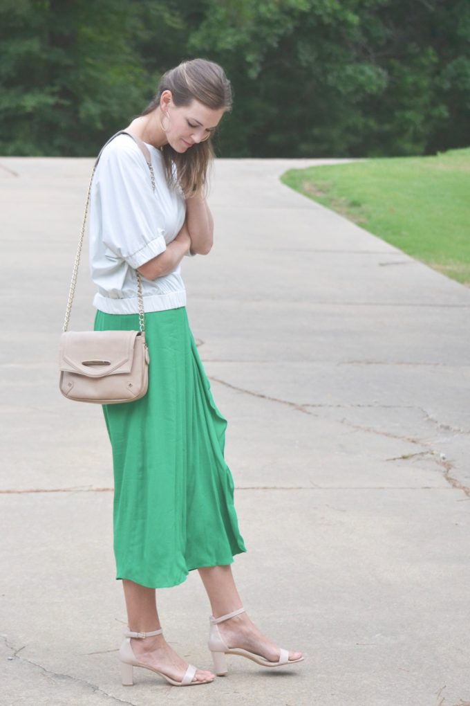 Summer refresh with emerald green