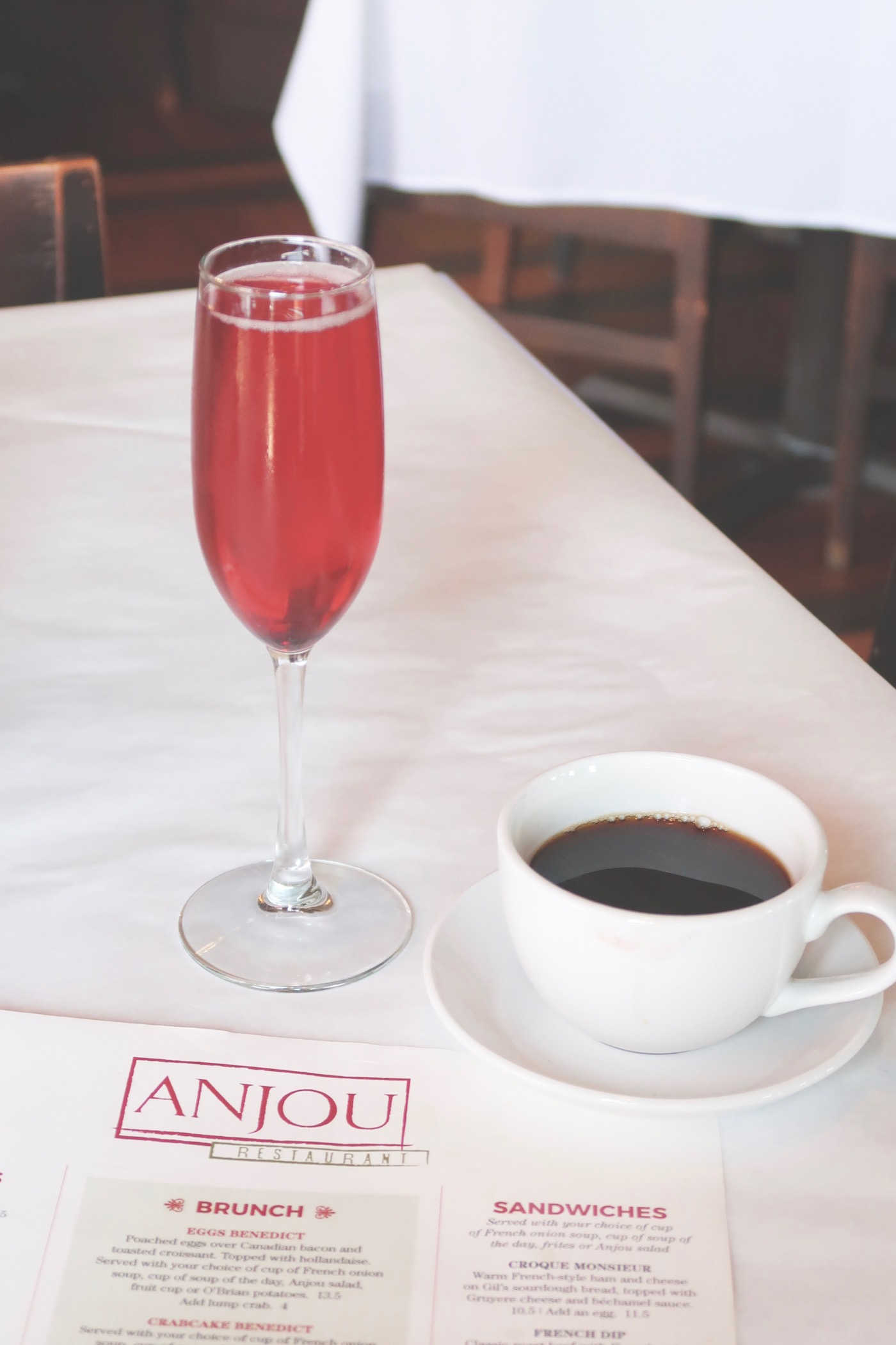 Brunch at Anjou in Ridgeland, Mississippi