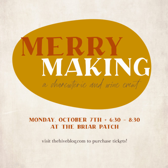 MERRY MAKING: A Wine and Charcuterie Event in Madison, MS