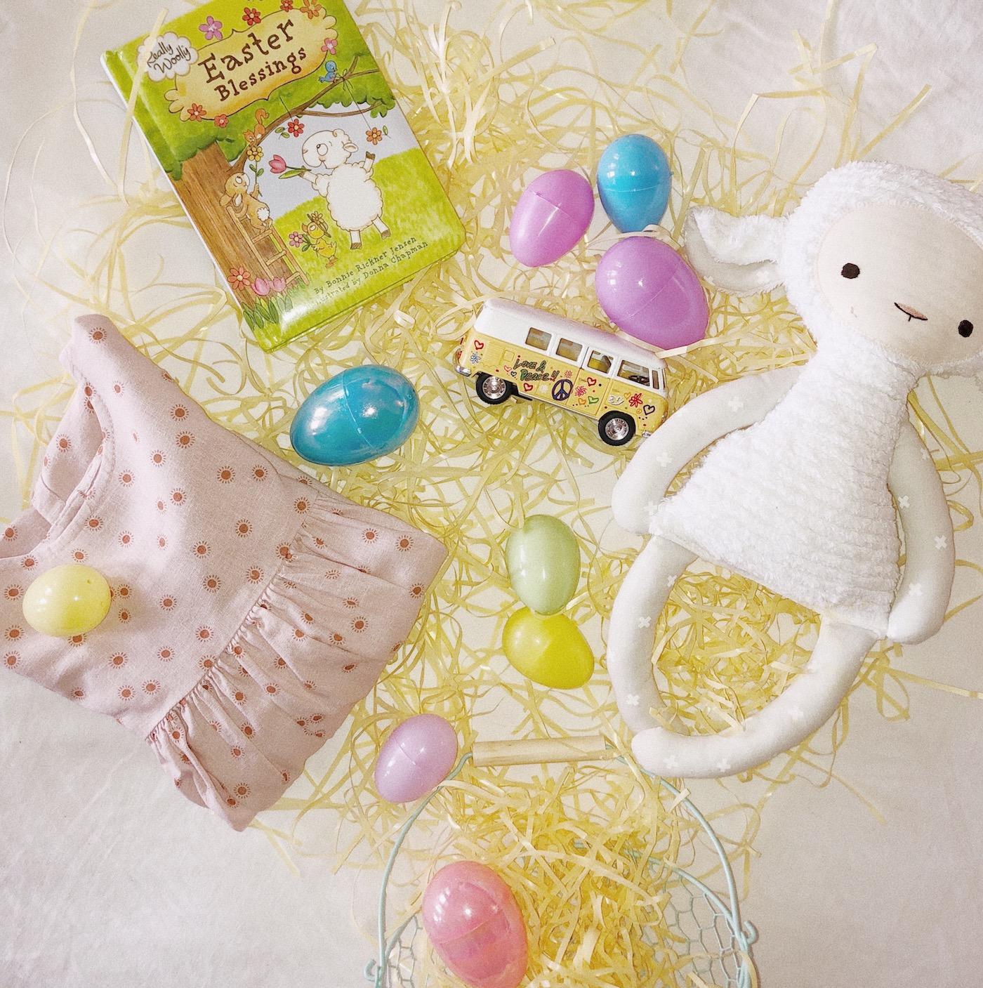 Toddler and preschooler Easter Basket finds