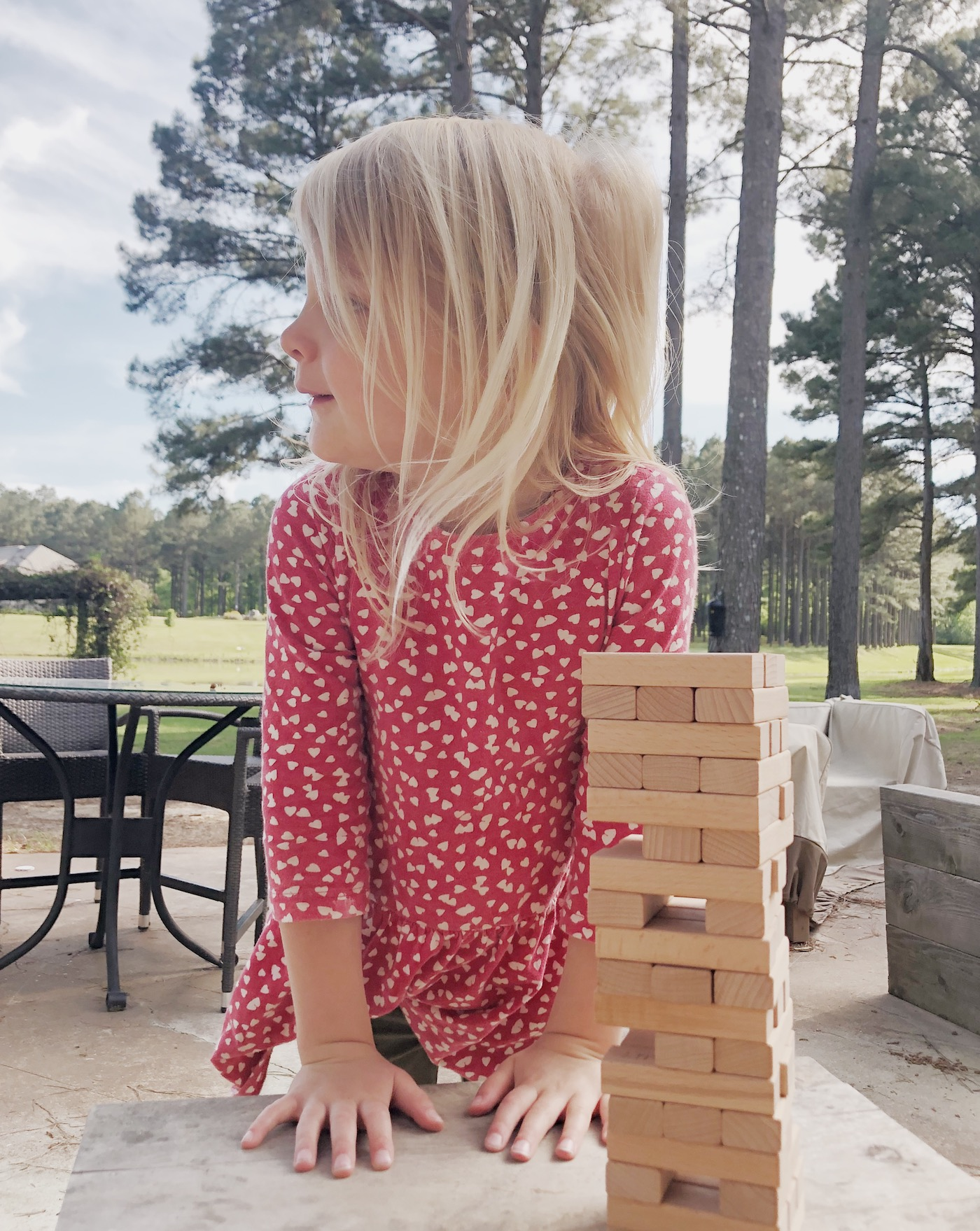 Questions to put on a Jenga set to play with your family!