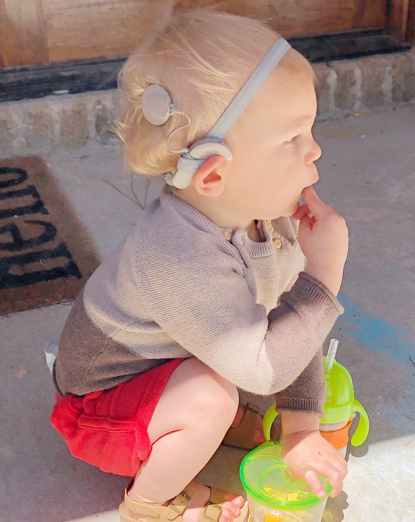 Our journey through hearing loss and cochlear implants