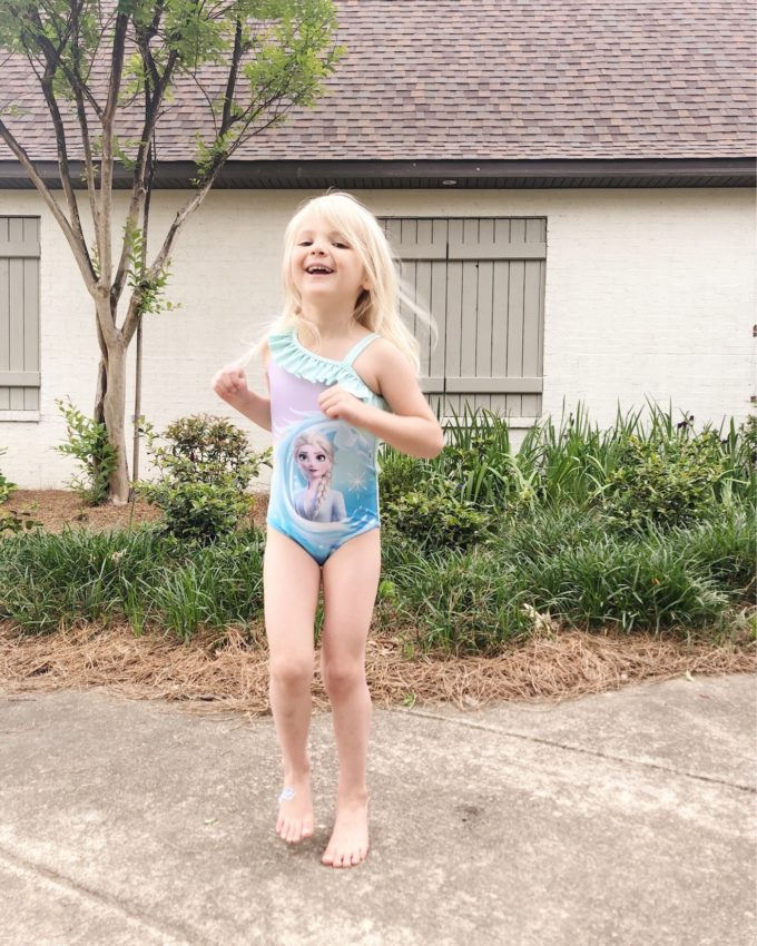 Little girl swimsuits under $20