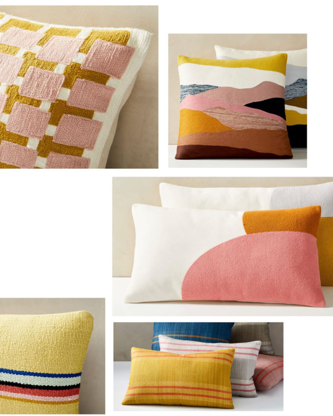 Pretty pillows at pretty prices