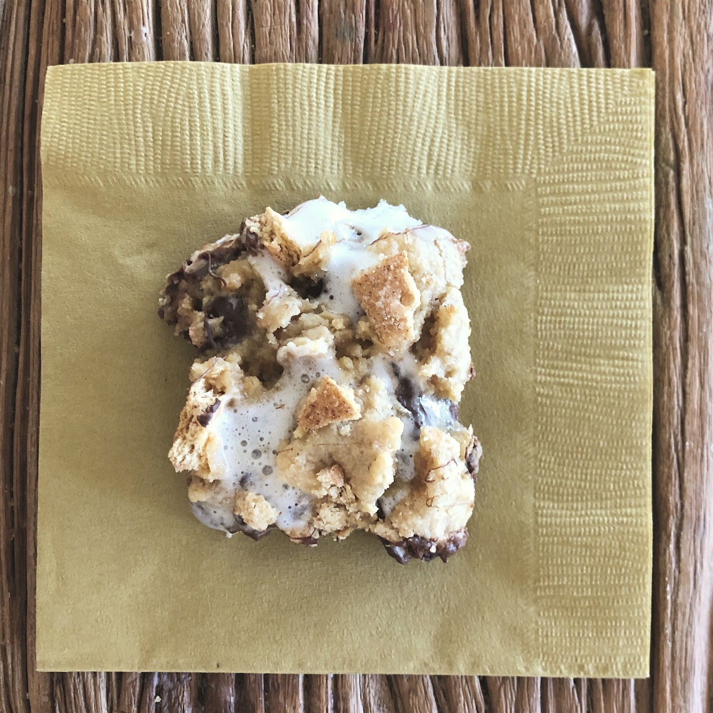 S'Mores Bars. SO GOOD!