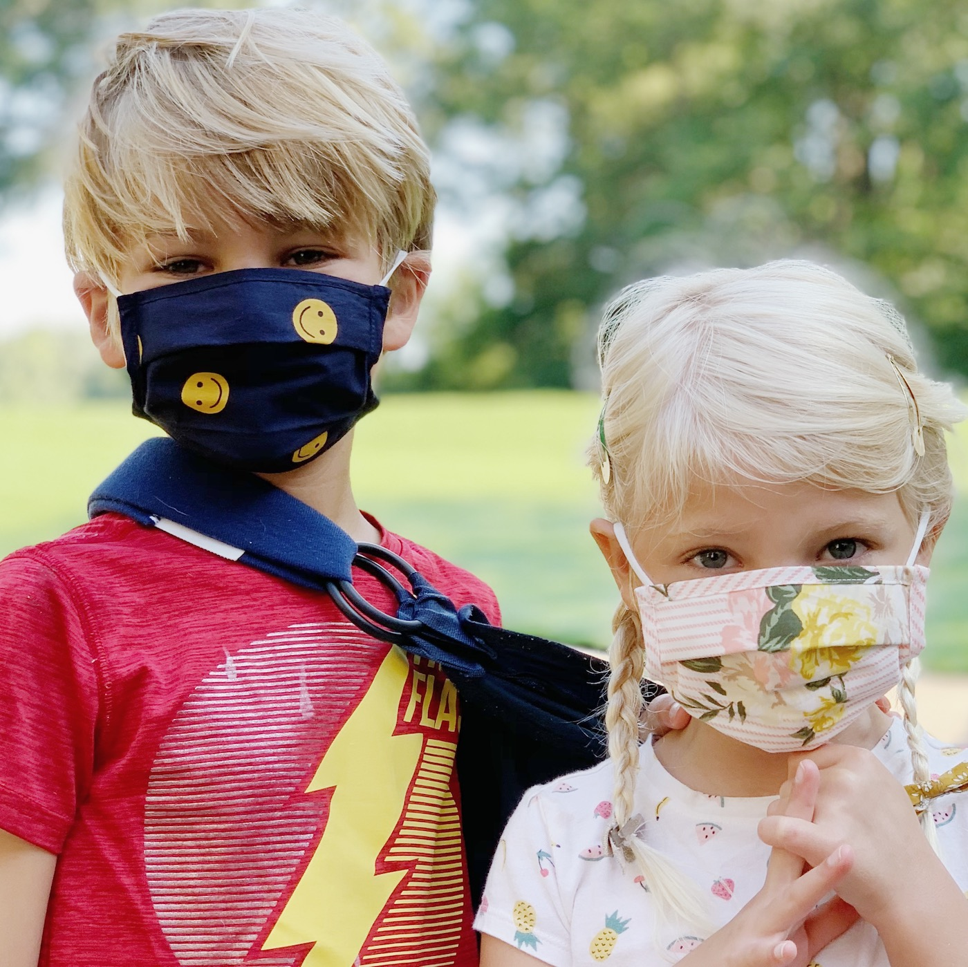 Adorable + Affordable kids' masks
