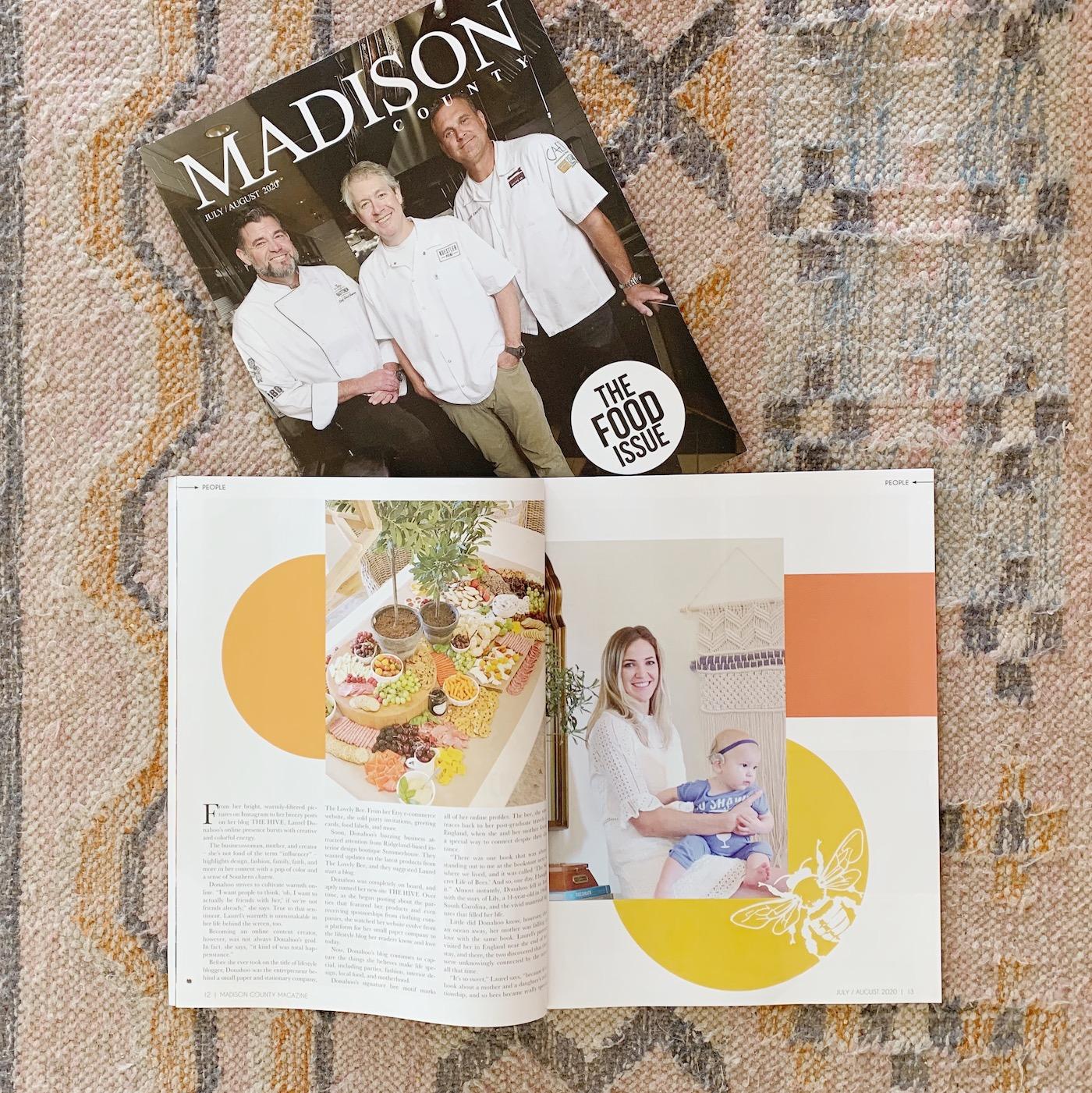 Laurel Donahoo in Madison County Magazine!