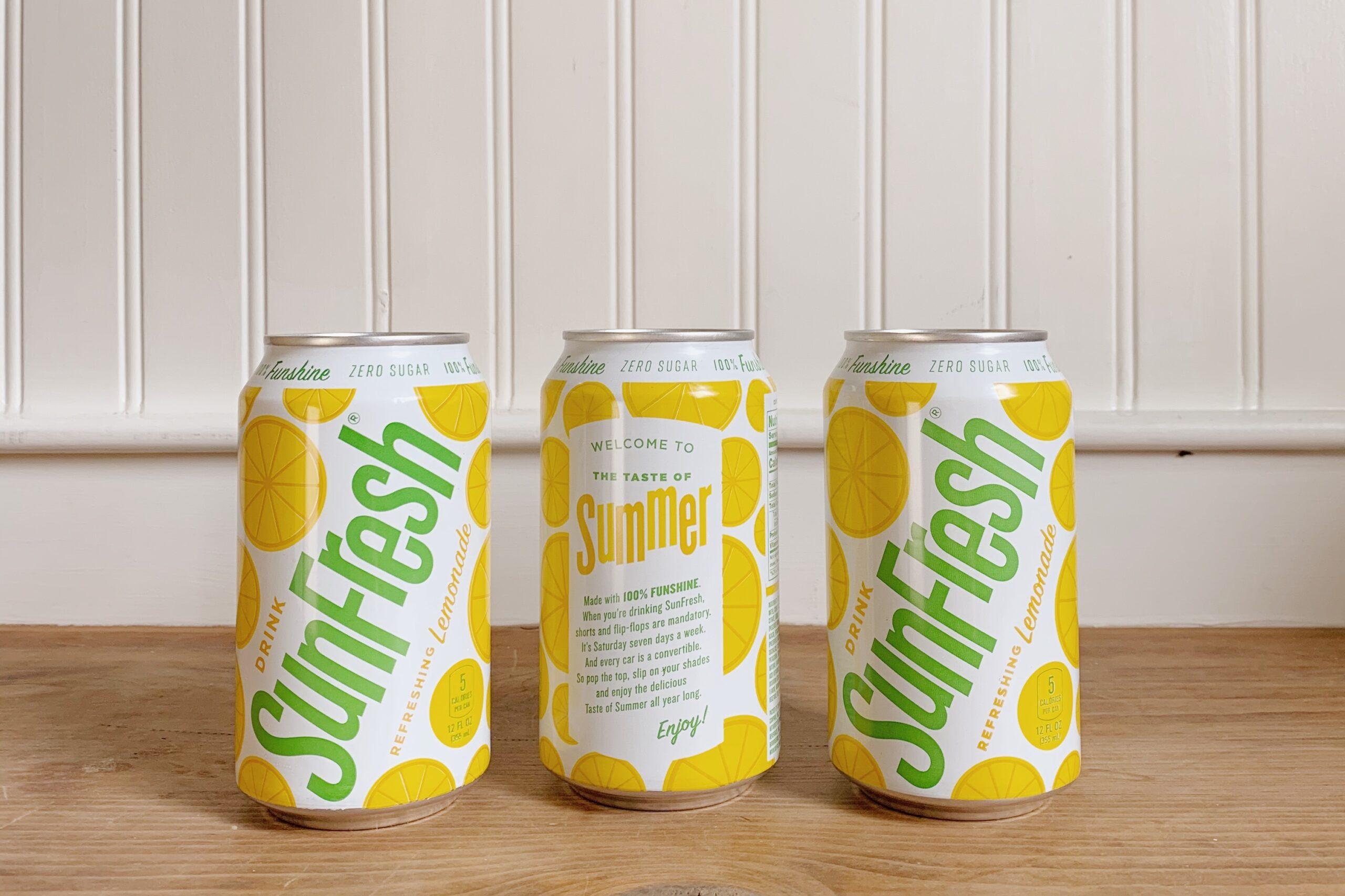 SunFresh diet lemonade