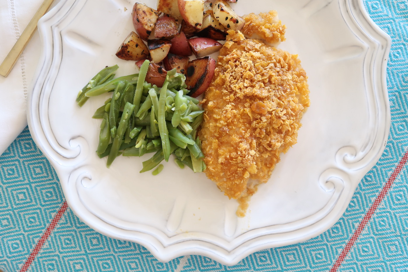 Sweet & Spicy Faux Fried Catfish Recipe made with U.S. Farm Raised Catfish
