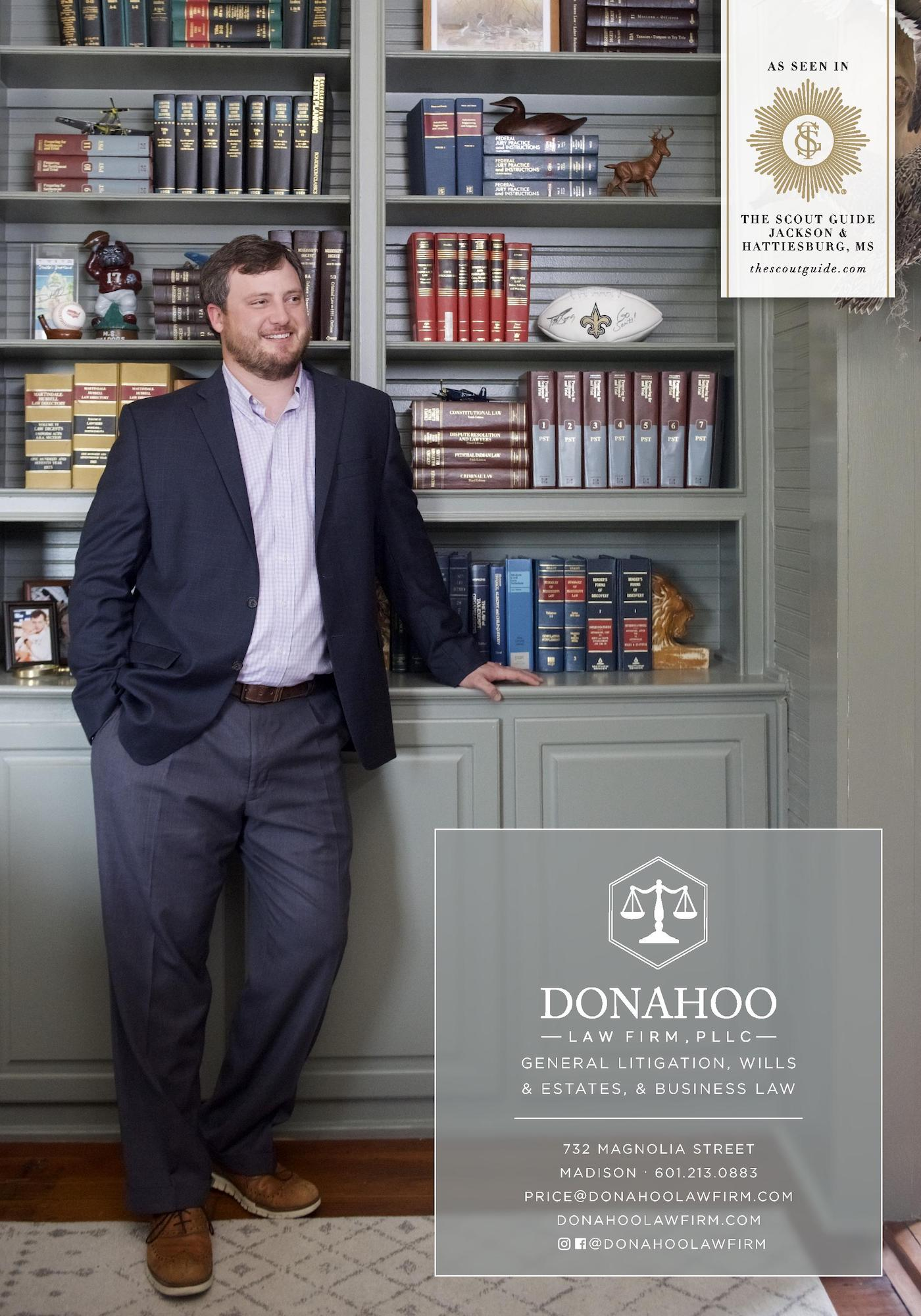 Donahoo Law Firm as seen in The Scout Guide Jackson