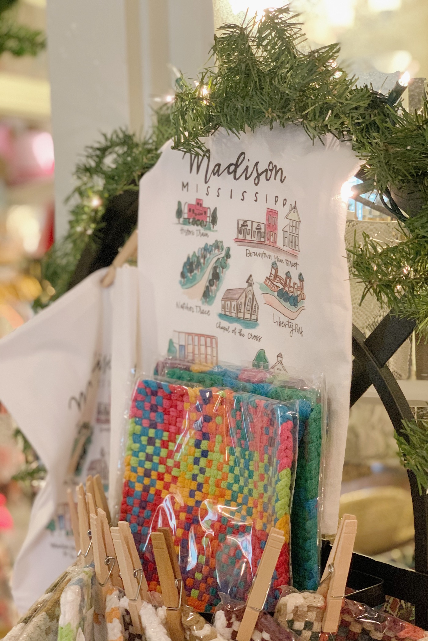 Christmas Shopping at Madison Marketplace