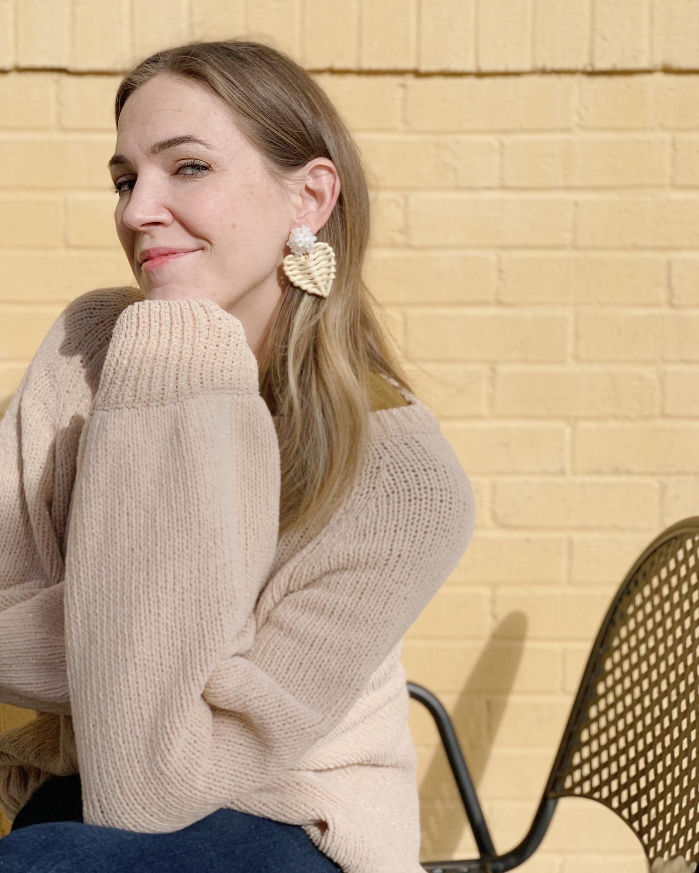 Laurel Earrings by Ashley Woods Designs